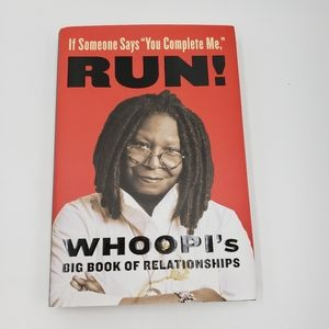 2/$10 Run! Whoopi's Big Book of Relationships Book